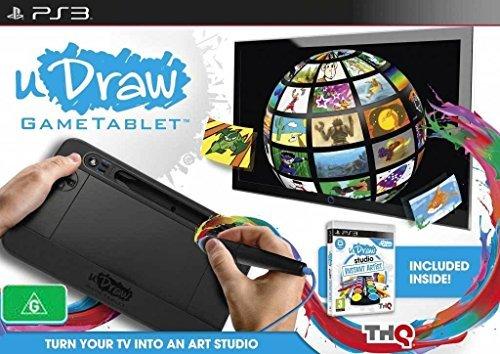 THQ uDraw Game Tablet + uDraw Studio: tableta gráfica para arte digital