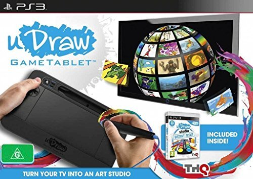 THQ uDraw Game Tablet + uDraw Studio: tableta gráfica para arte digital