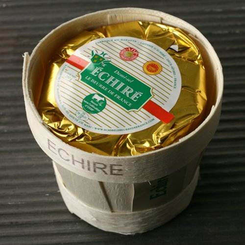 Beurre de Baratte French Butter AOP in Basket by Echire (8.8 ounce)