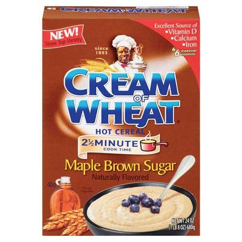 Cream of Wheat Maple Brown Sugar Hot Cereal, 24 Ounce -- 12 per case.