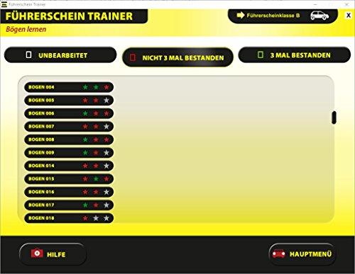 Führerschein Trainer 2018 – original amtlicher Fragebogen - 2