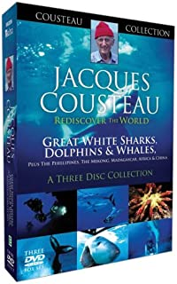 Jacques Cousteau - Great White Sharks, Dolphins & Whales