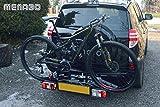 MENABO - Portabicicletas para Bola de Remolque - Naos Eco 2 - Capacidad para 2 Bicicletas