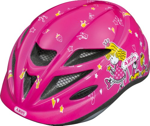 Abus Hubble - Casco de Ciclismo para Mujer Rosa Princess Talla:Medium