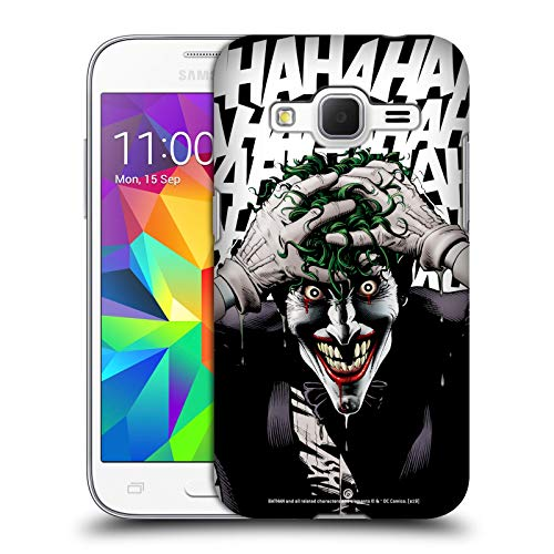 Head Case Designs Ufficiale Joker The Killing Joke Arte Personaggi Cover Dura per Parte Posteriore Compatibile con Samsung Galaxy Core Prime