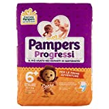 Pampers Progressi Extralarge, 17 Pannolini, Taglia 6+ (16+ Kg)
