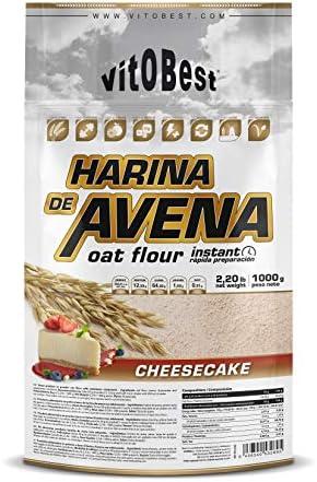 Harina de Avena Sabores Variados - Suplementos Alimentación y Suplementos Deportivos - Vitobest (Natillas con Chocolate, 1 Kg)