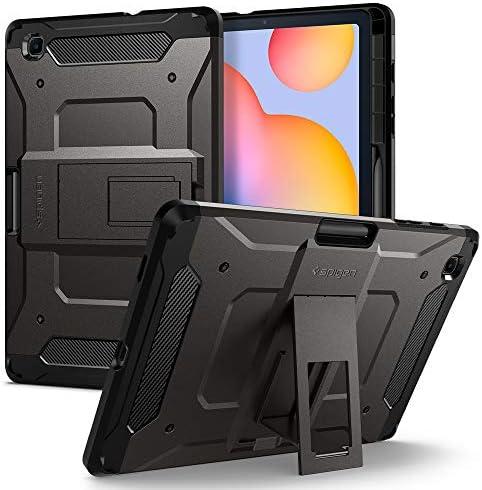 Spigen Tough Armor Pro Designed for Galaxy Tab S6 Lite Case with S Pen Holder 2020 Gunmetal product image