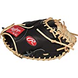 Rawlings Heart of The Hide R2G Baseball Glove, Black/Camel, 33 inch, One-Piece Solid Web, Right Hand Throw