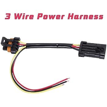 Amazon.com: Motoparty Tail Light Power Harness Plug For Polaris Ranger RZR  Crew XP 900 1000 Turbo LED Whip Brake Light License Plate Light 3 Wire  Power Harness: AutomotiveAmazon.com
