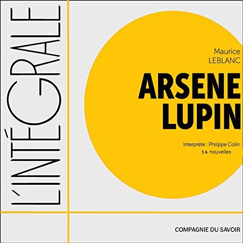 Couverture de Arsene Lupin. 36 nouvelles