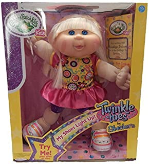 cabbage patch doll with light up shoes