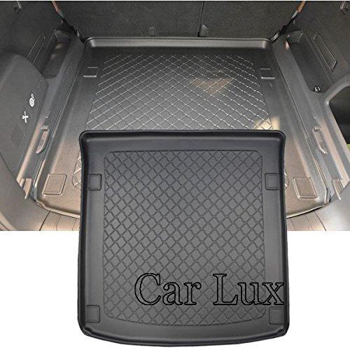 Car Lux AR05080 - Alfombra cubeta Protector Cubre Maletero Extrem a Medida y Antideslizante Rexton 2017-