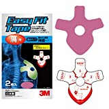 3M(スリーエム) 肩用 テーピング イージーフィットテープ ピンク 2枚 BAEF07