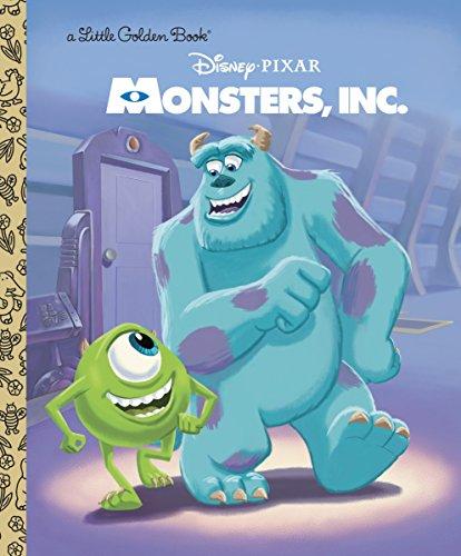 disney monsters inc book - 1