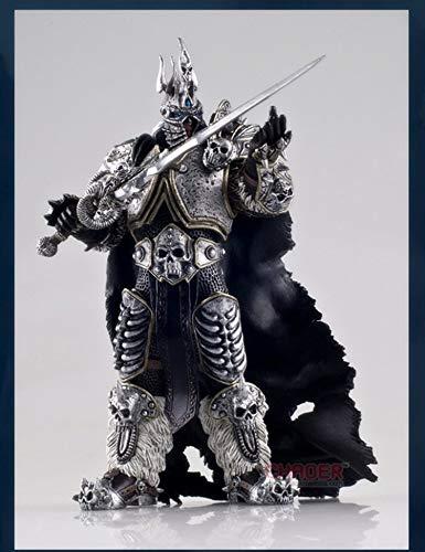 Moda World of Warcraft Lich King Arthas Figura 17CM-Estatua de PVC