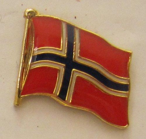 Pin Anstecker Flagge Fahne Norwegen Nationalflagge Flaggenpin Badge Button Flaggen Clip Anstecknadel
