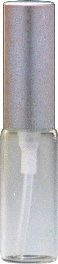 見えるチョーク持っているクリアガラスアトマイザーアルミキャップゴールド[ヒロセアトマイザー][HIROSE ATOMIZER]