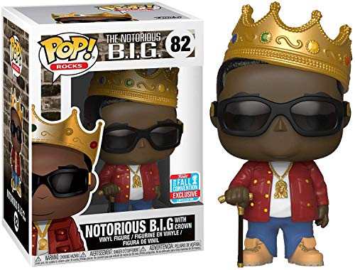 Funko Big 2018 NYCC Notorious with Crown Pop Vinyl