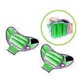 gymenist Gewichtshandschuhe Paar Handgelenk Gewichte Handschuh mit Löchern für Finger und Daumen...