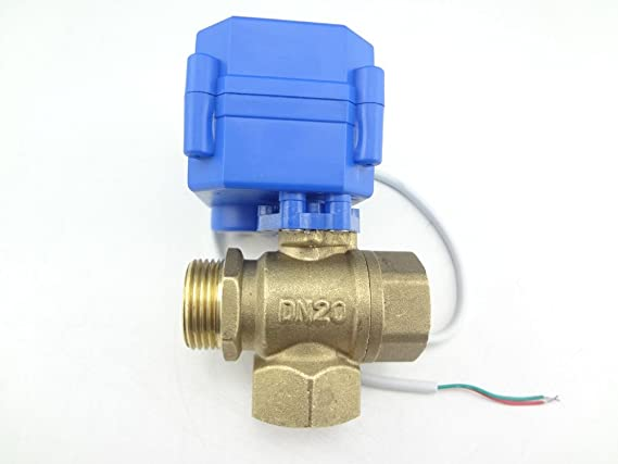 Straight Ball Valve 304 Stainless Steel Water Valve Shut Off with Handle Twisting Ball Valve for Water Gas Air Pipe 12 * 8mm