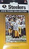 Pittsburgh Steelers 2018 Panini NFL Football Komplettset Mint 12 Karten Team Set mit Ben Roethlisberger, Le'Von Bell, Mason Rudolph Rookie Karte plus -