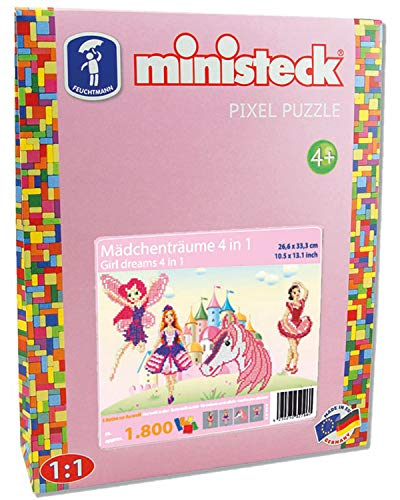 Ministeck 32786 - Mädchenträume 4in1, ca. 1.800 Teile