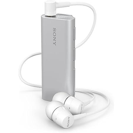 ソニー ワイヤレスイヤホン SBH56 : カナル型 Bluetooth対応 リモコン・マイク付き シルバー SBH56 S