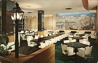 Lamp Post Restaurant, Hotel Seminole Jacksonville, Florida Original Vintage Postcard