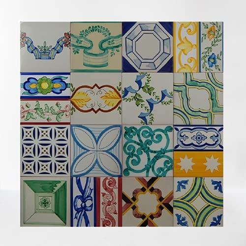 Mosaico surtido de 80 x 80 cm - Ceramica Sevillana