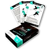 figgrs Training Cards en alemán - Stretch & Mobilise I 50 Ejercicios de Fitness para más Movilidad I Estiramiento sin Equipo para en casa y en Todas Partes I De Principiante a Profesional