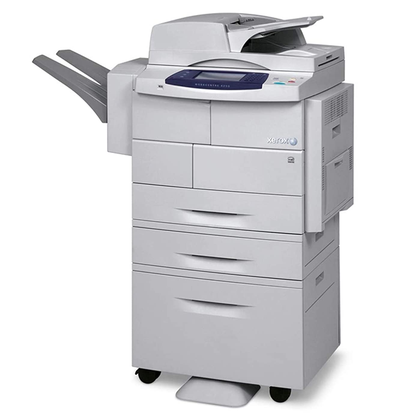 Used Xerox WorkCentre 4250XF Mono MFP Printer Copier Scanner with Finisher 45 PPM (Renewed)