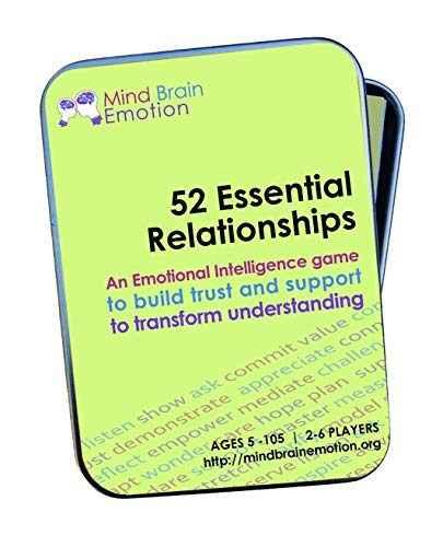 52 Essential Relationships: Emotional Intelligence Game for Home, Work, and School - Builds Communications Skills, Perspective-Taking and Empathy - Created by Harvard Researchers
