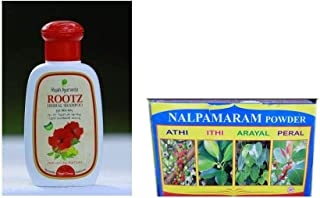 Herbal Shampoo - 800ml, With Free Leaf N Relief Nalpamaram Powder 500gm
