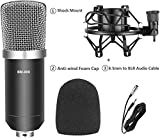 Device of Urban IFNFOTECH Professional Latest BM800 Studio Microphone for Broadcasting & Recording
