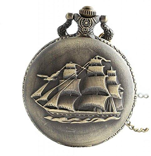 Infinite U Antiguo Barco de Vela/Barcos de Guerra/Barco de Pirata Grande Reloj...