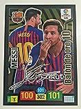Messi balón de Oro Firmado