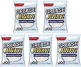 2021 Upgrade Grease Away Powder Cleaner Ultra Clean 5 piezas, Limpiador de grasa de cocina multiusos para quitar manchas, Limpiador de utensilios de cocina para horno