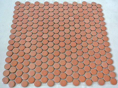 Piastrelle Mosaico tessere di mosaico in ceramica pulsante Mix Altrosa antiscivolo 5mm nuovo # 202