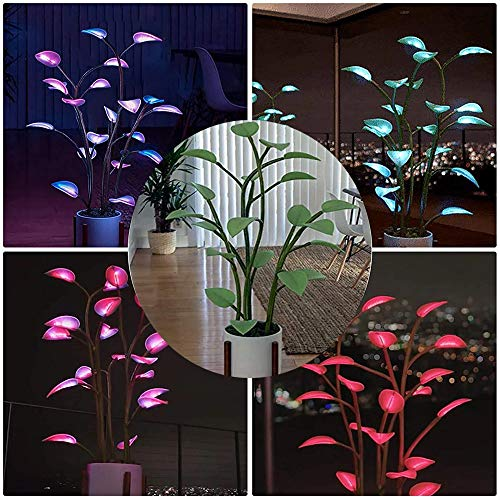 The Magical Led Houseplant - 2021 Magical led Indoor Plants with 500 Programmable, Light up Artificial Plants Bonsai Houseplant Light(Without Basin)