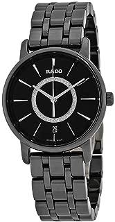 Rado DiaMaster Black Diamond Dial Ladies Ceramic Watch R14063737