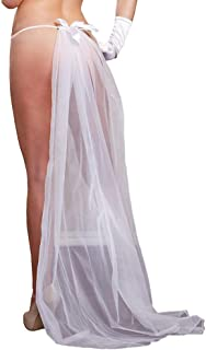 iCollection Women's Lace G-String & Veil