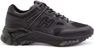 Hogan Luxury Fashion Uomo HXM4770CQ94OGR130B Nero Pelle Sneakers   Autunno-Inverno 20