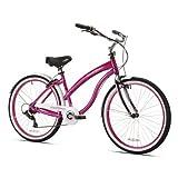 "Best Womens Cruiser Bikes - 26"" Kent Del Rio Women's Cruiser Bike, Magenta Review"