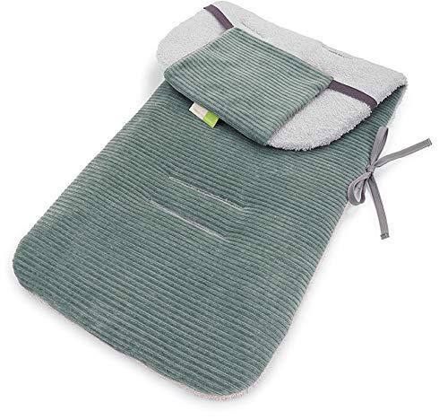 Priebes Sitzauflage Sissi für Kinderwagen   Atmungsaktive, antiallergische Sitzauflage   Sommer-Sitzeinlage Universal für Kinderwagen, Buggy   Schonbezug Baumwolle