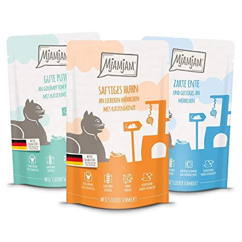 MjAMjAM Mixpaket IV 4*Huhn, 4*Ente & Geflügel, 4*Pute 12 x 125g, 1er Pack (1 x 1.5 kilograms)