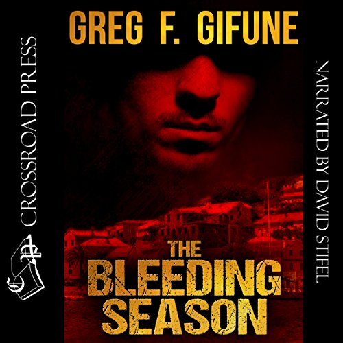The Bleeding Season audiobook cover art