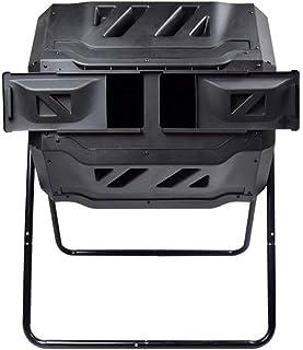 160L屋外コンポストバレル、キッチン廃棄物の並べ替え、リサイクル発酵堆肥ボックス、好気性堆肥 (Color : A)