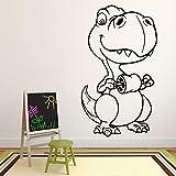 Baby T Rex Dinosaurio Tatuajes de pared Patrón de...
