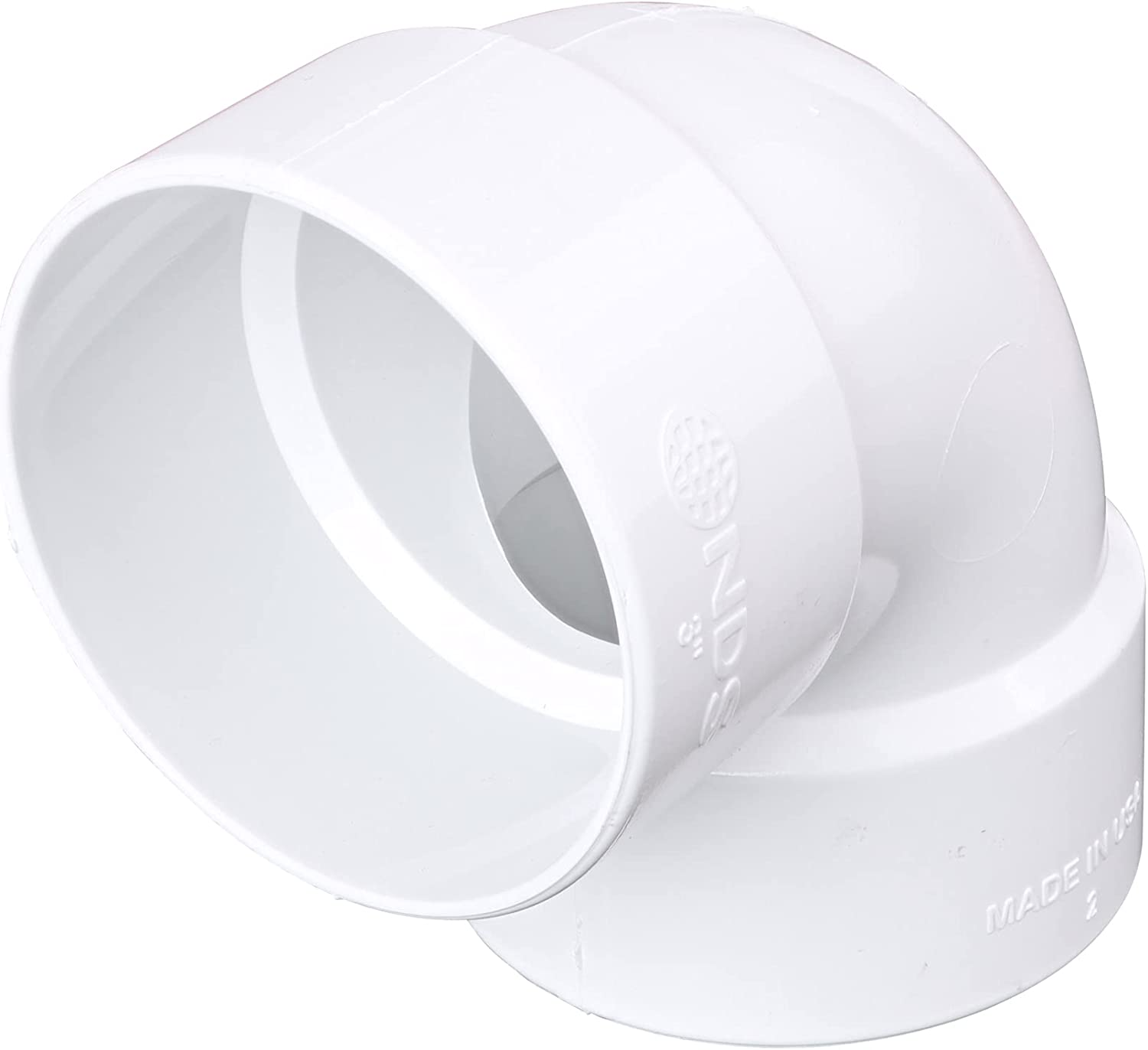 NDS 3P02 3-Inch Sewer Baltimore Mall Max 87% OFF PVC 90-Degree Elbow Drain
